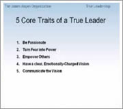 James Mapes - True Leadership